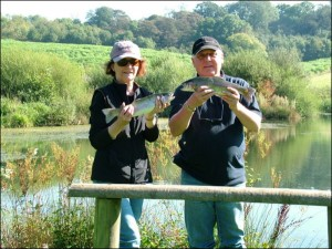 Fly fishing tuition across Somerset